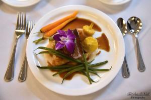 gala dinner plate