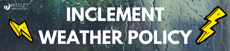 inclement weather web header