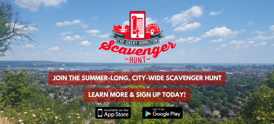 scavenger hunt for slider