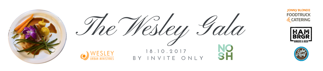 The Wesley Gala Dinner web header2